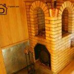 Банная печь: установка, обкладка и покраска