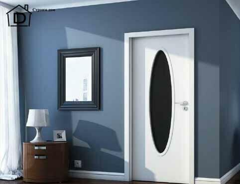 покраска межкомнатных дверей
